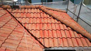 モニエル屋根 塗り替え前
